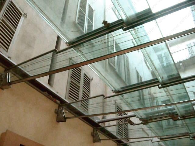 travi in vetro strutturale