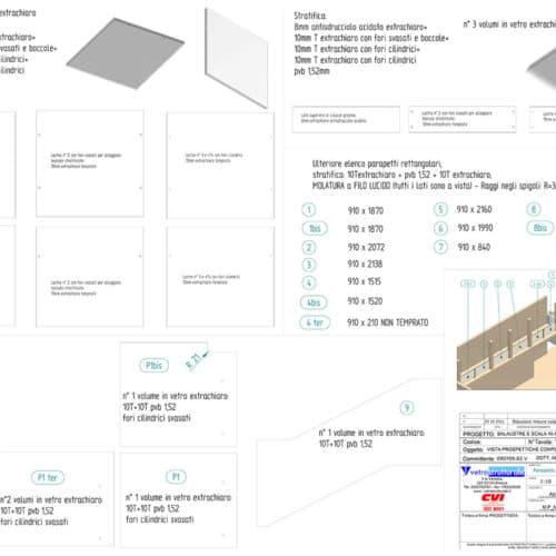 Vetrostrutturale segue ogni fase:dalla progettazione alla posa del manufatto in vetro
