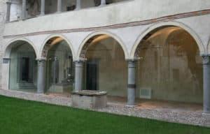 vetrate in vetro strutturale del castello Carmagnola